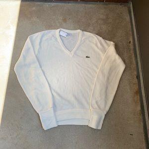 3cc52cf0728d72 Vintage izod Lacoste cardigan sweater size M